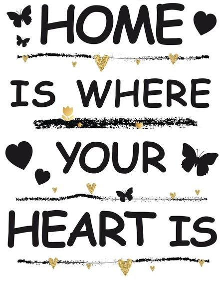 HERMA 15127 5x Fensterdecor Home is #