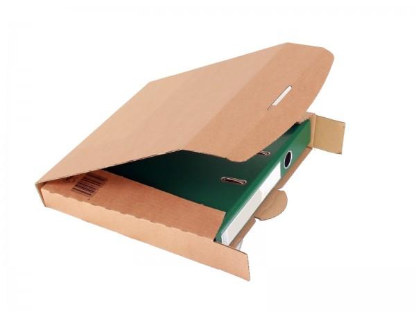 Ordner-Transport-Box 320 x 288 x 50 mm braun