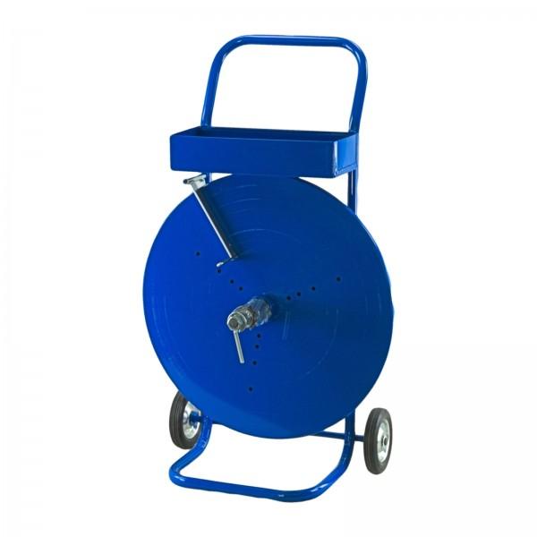 1 x Abrollwagen fahrbar Abroller für PET & PP Umreifungsband Ker